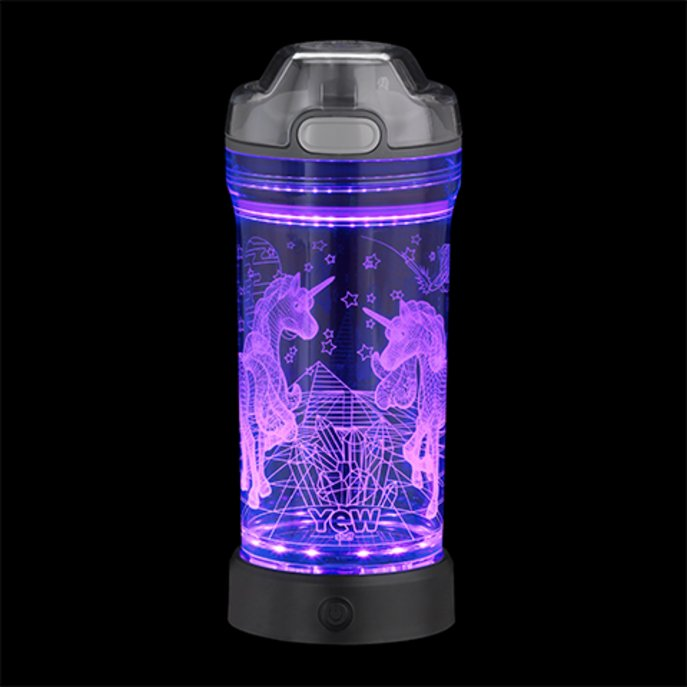 LED-Trinkflasche