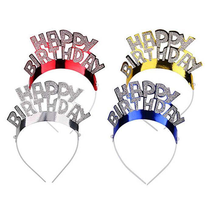 Besondere Geschenkideen aus der Region: Happy-Birthday Haarreif